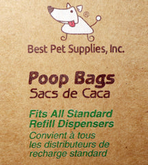 Best Pet Supplies 150 Waste Bags 10 Refill Rolls  New and Improved Fresh Scented, Fits all standard dispensers.