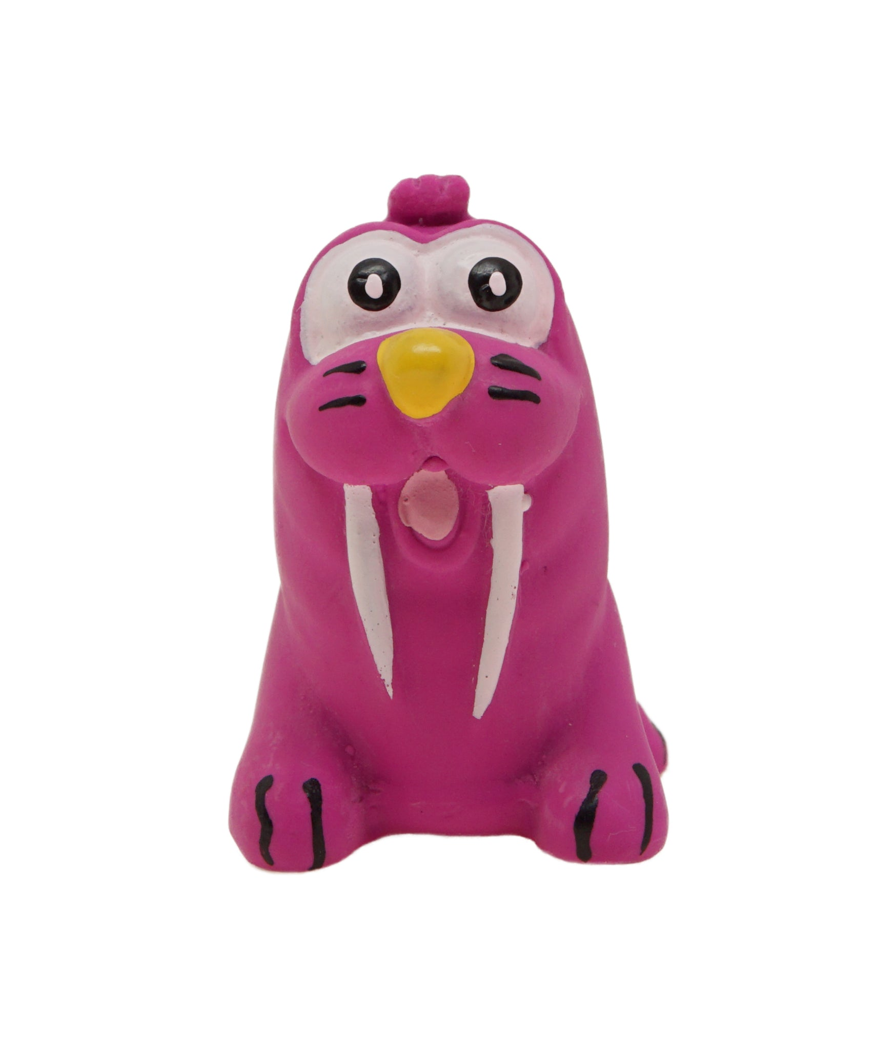 purple rubber seal dog toy 3