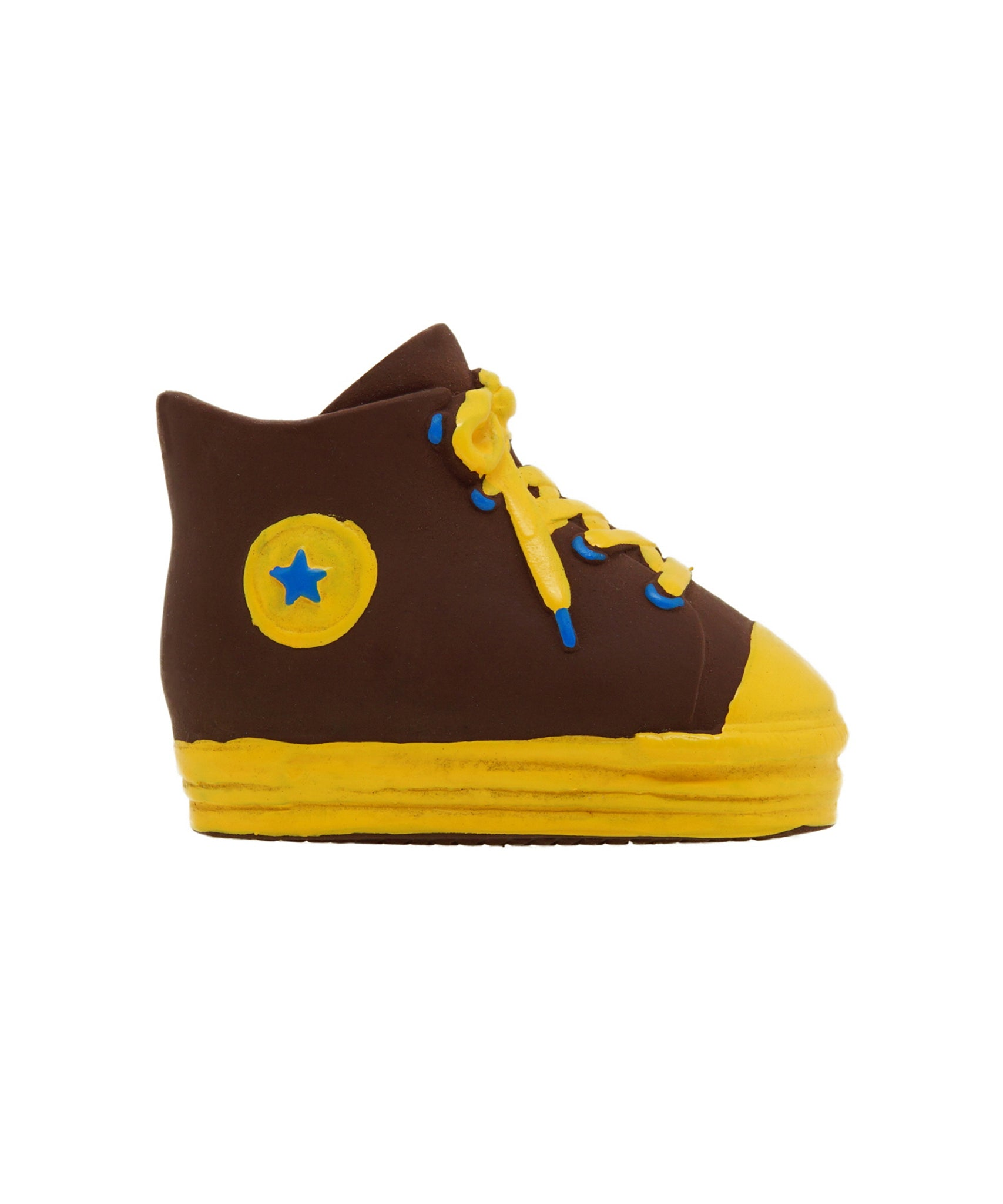 brown rubber shoe dog toy 5