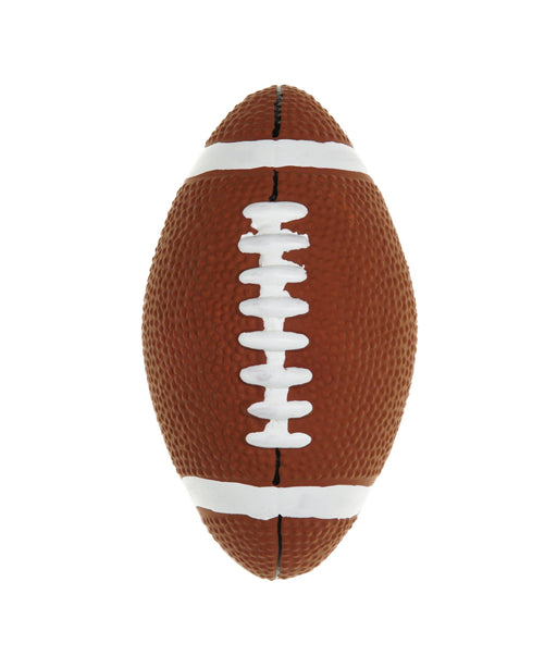 rubber football dog toy 5.5""
