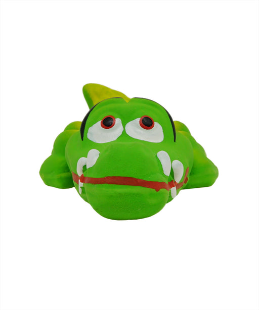 rubber crocodile toy for dogs 5""
