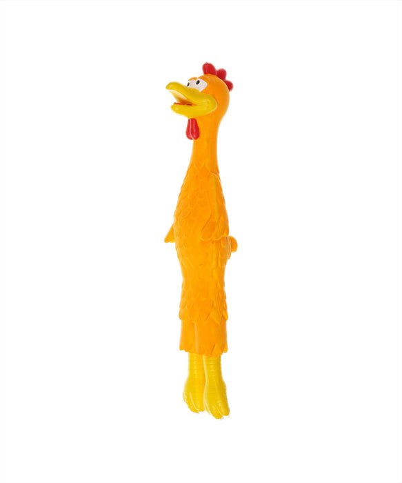 long rubber chicken toy 14""