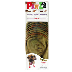 PAWZ Rubber Protective Dog Boots - Tiny