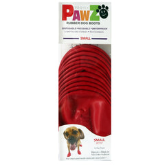PAWZ Rubber Protective Dog Boots - Small