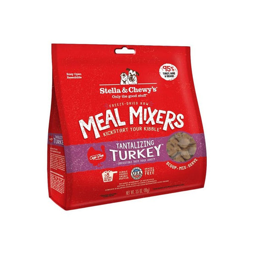 Stella  Chewy's Tantalizing Turkey Meal Mixers GrainFree FreezeDried Dog Food
