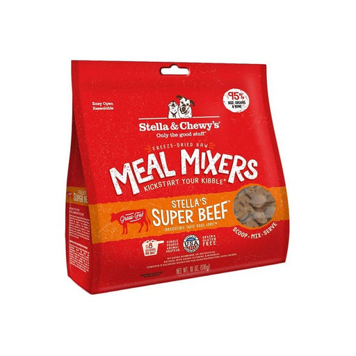 Stella  Chewy's Stella's Super Beef Meal Mixers GrainFree FreezeDried Dog Food