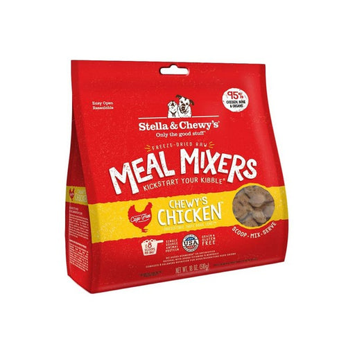 Stella  Chewy's Chewy's Chicken Meal Mixers GrainFree FreezeDried Dog Food