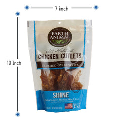 Earth Animal All Natural Chicken Cutlets - SHINE