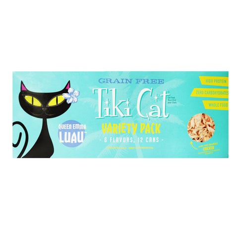 Tiki Cat - Variety Pack - 6 Flavors, 12 Cans -