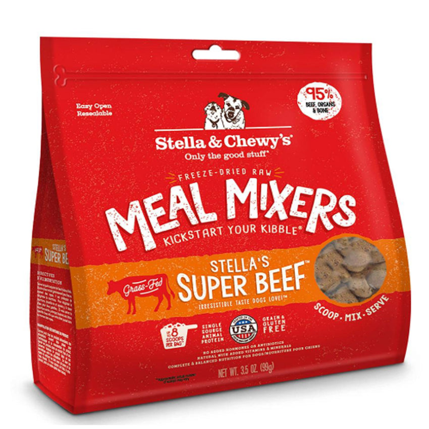 Stella & Chewy's Freeze-Dried Raw Meal Mixers - Stella's Super Beef