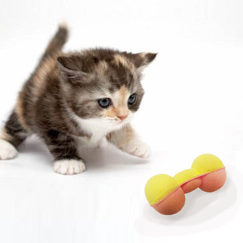 "Soft Squish-able Sponge Foam Cat Toy 2"" 2 per Pk."