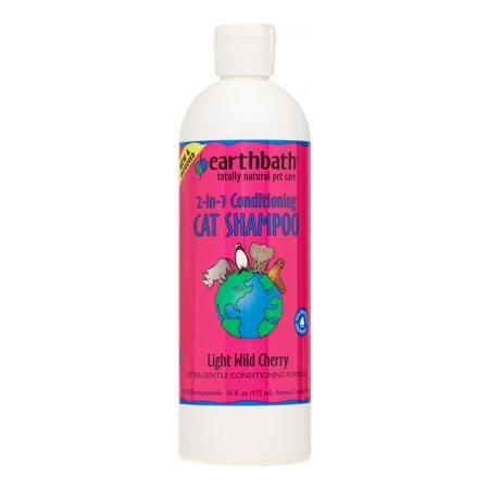Earthbath Cat Shampoo Light Wild Cherry