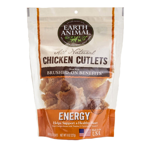 Earth Animal All Natural Chicken Cutlets - ENERGY