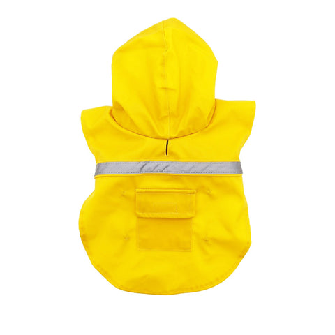 Guardian Gear Reflective Strip, Waterproof Yellow Raincoat for Dogs