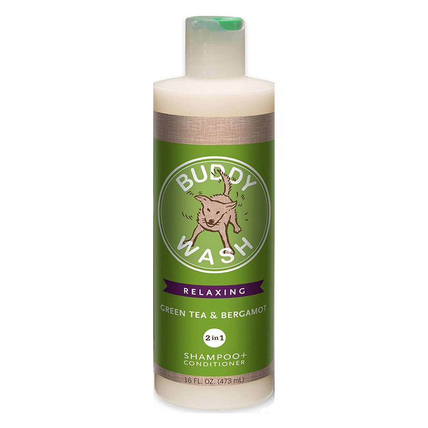 Buddy Wash Relaxing Bergamot 2in1 Shampoo and Conditioner 16 fl oz  for dogs Fresh and Clean Coat Softener