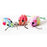 One Pack Of 3 Piece Multi-Colored Mice toys Interactive Toys for cats and Kittens caty Toy