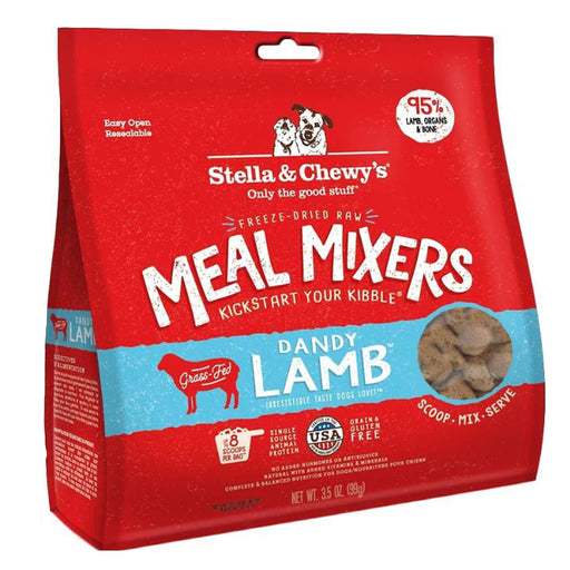 Stella & Chewy's Freeze-Dried Raw Meal Mixers - Dandy Lamb