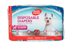 Simple Solution - Disposable Diapers - 12 Pack