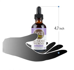 Earth Animal Herbal Remedies - No More Worms 2fl. oz