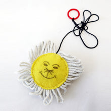 Sunflower Cat Toy with Catnip 4""