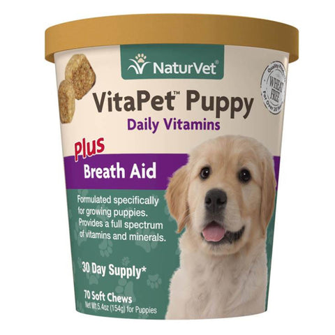 NaturVet VitaPet Daily Vitamins Soft Chews