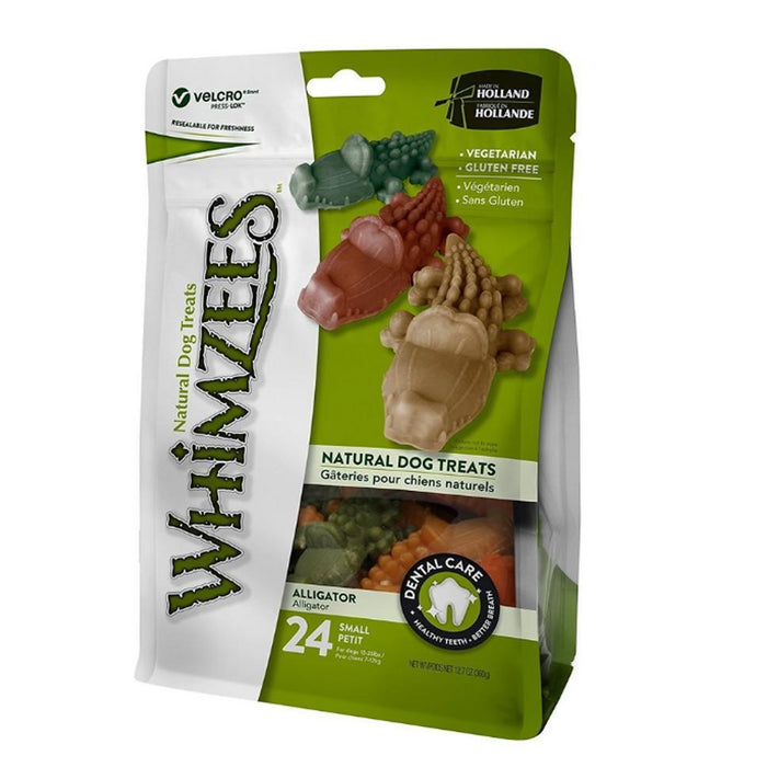 Whimzees Alligator Dog Treats