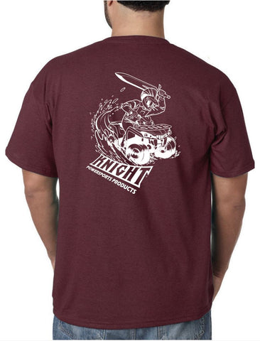 Knight Riders Tee-Shirt, Maroon