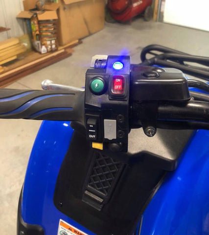 Control Switches Box - with Light Bar Switch, Winch Switch, USB Port & More