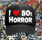 "Defend Horror ""I Heart 80s Horror"" Hat"