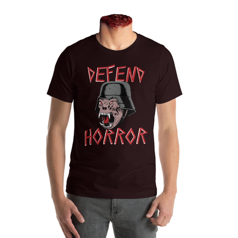 "Defend Horror ""Nightmare Demon""  T Shirt - Black"