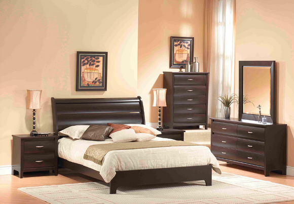 Dynamic Mocha  343 Bedroom Set