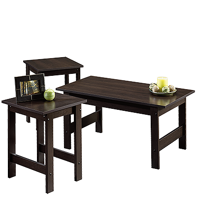 Sauder 412935 Beginnings 3 piece Coffee / End Table Set