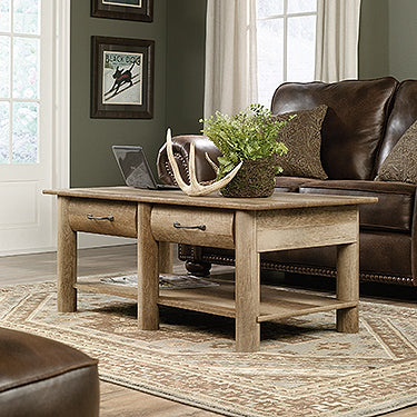 Sauder 416562 Boone Mountain Coffee and End Table Set