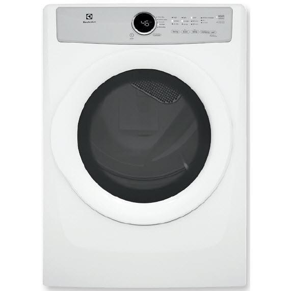 Frigidaire EFDC317TIW 8.0 Cu. Ft Front Load Electric Dryer
