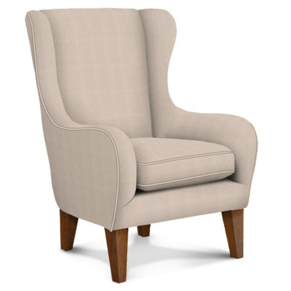 Best 7180 Wing Accent Chair