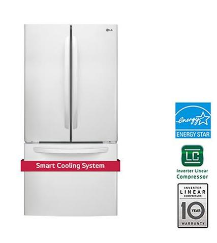 LG LFC24786SW 24 Cu. Ft. French Door Refrigerator