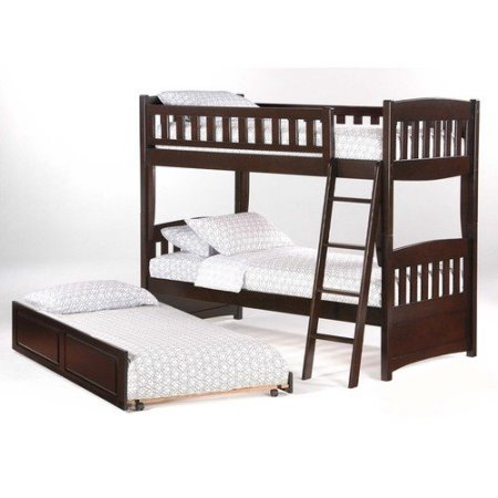 Night & Day Cinnamon Twin Twin Bunk Beds & Accessories