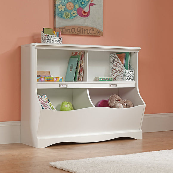 Sauder 414436 Bookshelf with Cubby