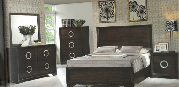 Kwality Living 3500 Queen Bedroom Set