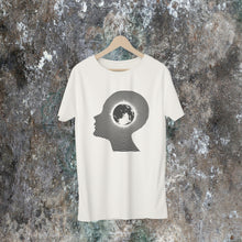 "Load image into Gallery viewer, Echolette / Echoe  ""Earth Conscious"" Unisex T-shirts (Vintage White)"