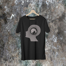 "Load image into Gallery viewer, Echolette / Echoe  ""Earth Conscious"" Unisex T-shirts (Black)"