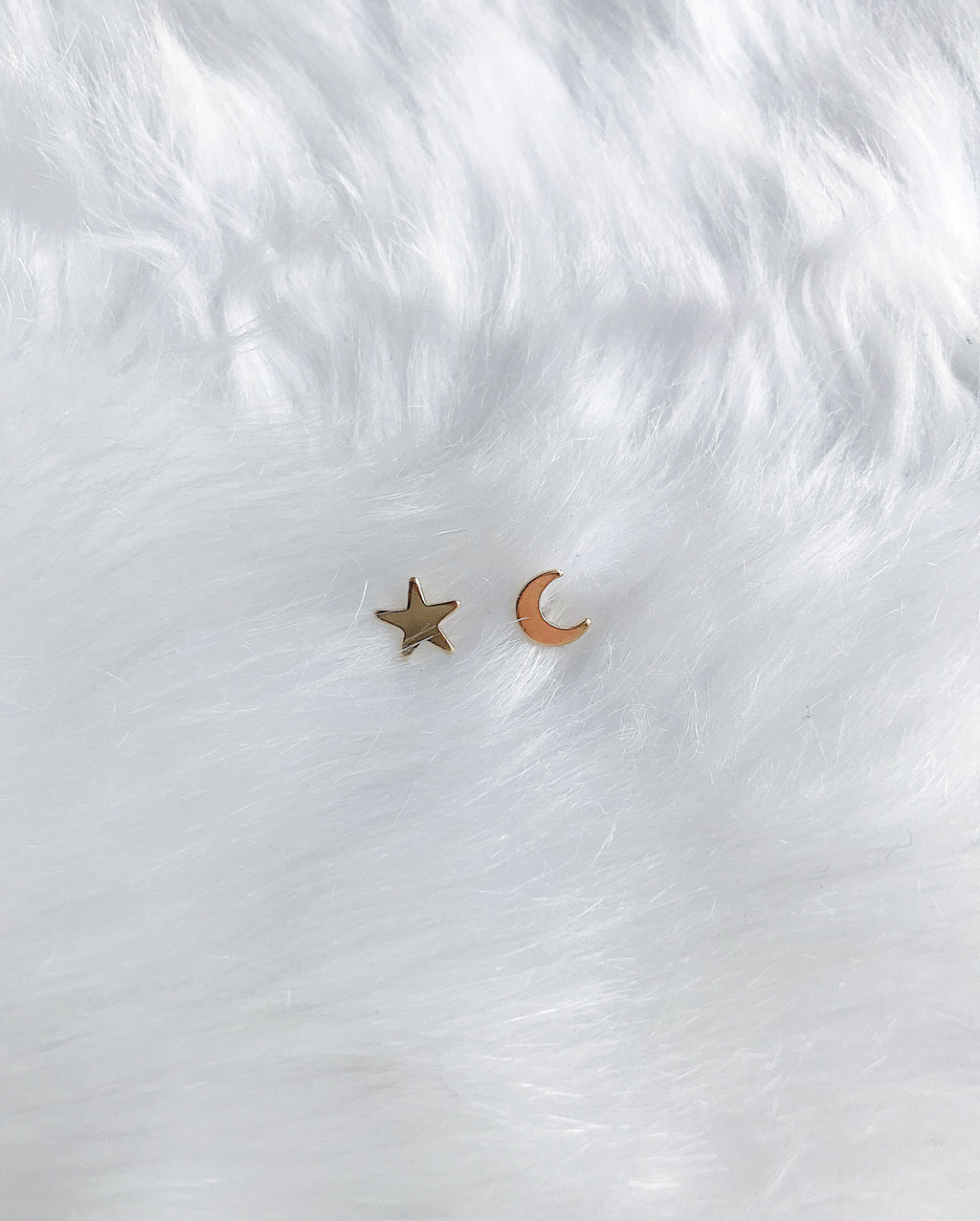 Luna & North Stud Earrings - Gold