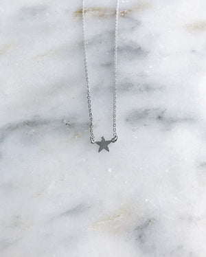 North Star Necklace - Gold or Silver