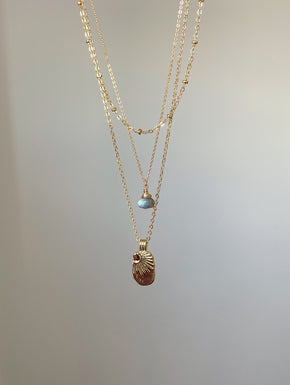 Sunbeam Necklace - Gold