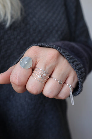 Herkimer Ring - Silver