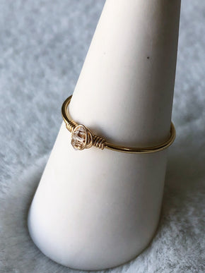 Herkimer Ring - Gold