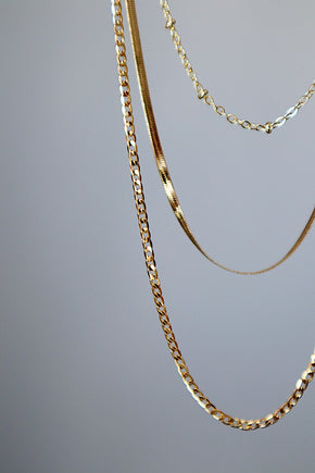 Dew Drops Necklace - Gold