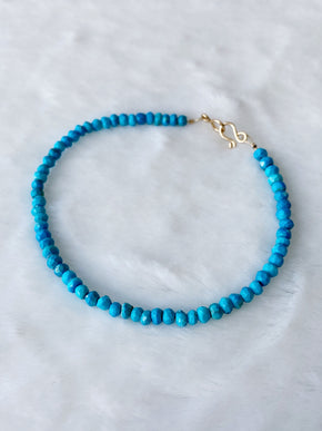 Gold Sleeping Beauty Turquoise Bracelet ~ Morph