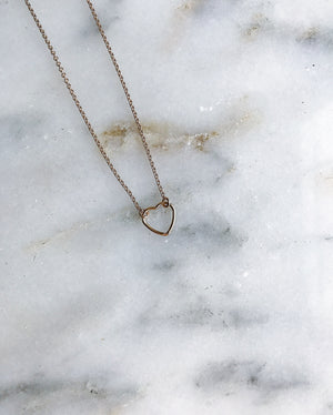"""For the Love"" Necklace - Gold"