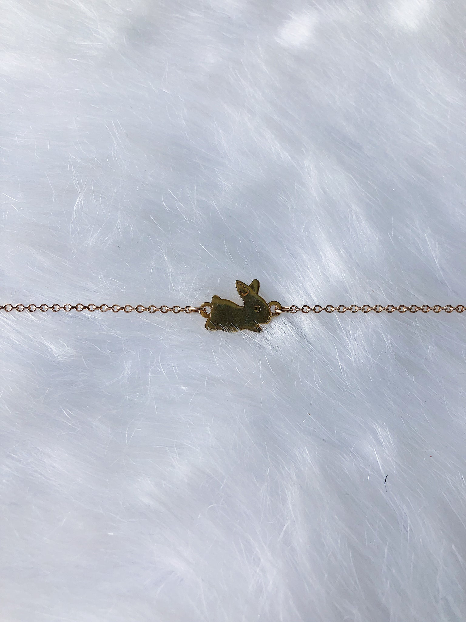 Leaping Bunny Bracelet - Gold or Silver
